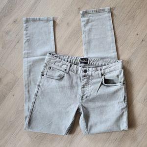 Solid mens slim fit jeans